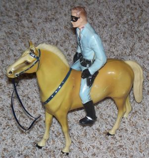 Lone Ranger Vintage Collectible Toy Figure Horse Hartland