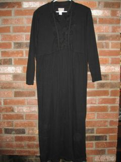 Coldwater Creek Long Sleeve Full Length Dress Size L