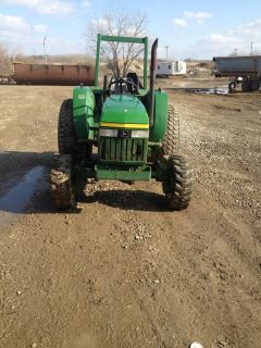 Deere 1070 4x4 Tractor Diesel 3 Point Hitch Pto Turf tires Low Hours