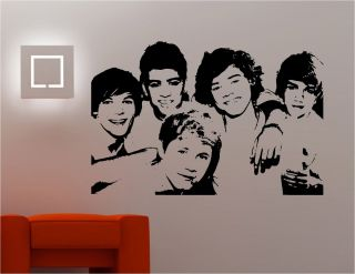 Stunning Wall Art Sticker Vinyl Kitchen Lounge Music Bedroom