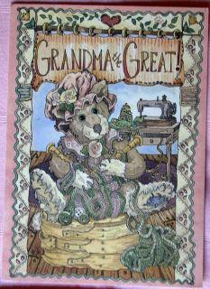 Lowenthal Boyds Bears Cute Grandma Birthday Card