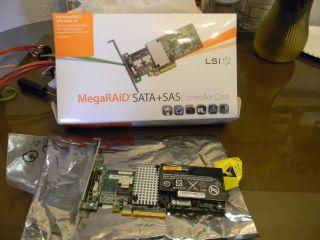 LSI MegaRAID 9260 4i 4 Port 6GB s SATA3 SAS Controller with BBU Unit
