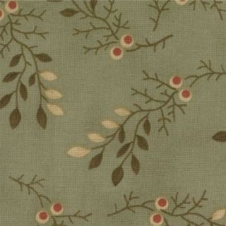 Moda Fabric Looking Back Sage Branches