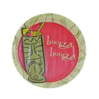 Paper Tiki Party Plates Luau Supplies Tropical