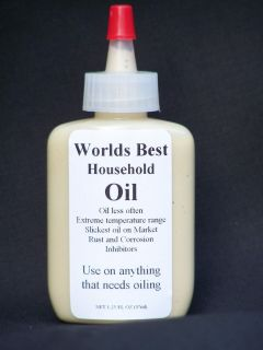 Worlds Best Household Oil Lubricants Rust Inhibitors and Penetrating