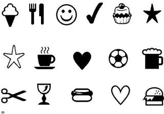 Loyalty Card Stamp Cafe Coffee Shop etc Self Inking Asstd Images