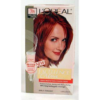 LOreal Excellence 7R Red Penny Hair Color