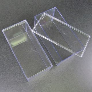 Clear Plastic/Acrylic Display Boxes, Cases For Beanie Baby Storage