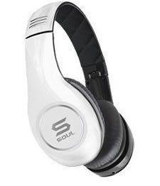 SOUL by Ludacris SL150BW High Definition On Ear Headphones SL150 White