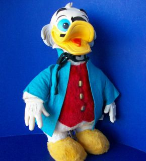 Gund Swedlin Large Ludwig Von Drake Plush Doll Rubber Face Vintage