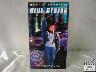 Blue Streak VHS Martin Lawrence Luke Wilson 043396038936
