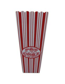Regular Size Plastic Popcorn Buckets Containers