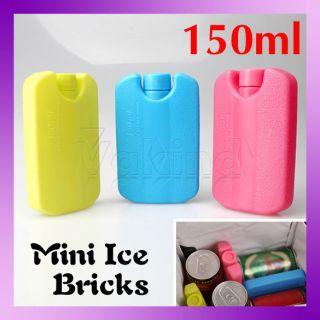 New Refreshing Pack Ice Brick Freezer Lunch Bag Box Block Cool