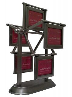 NEW Small Ferris Wheel Multi Photo Frame Holds 10 Small 2 x 3 Pictures