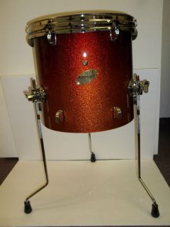 Ludwig Accent CS Custom 14 Tom Drum Amber