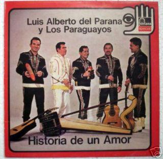 Luis Alberto Del Parana Historia de Italy Press LP