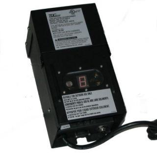 Malibu 200 Watt Digital Low Voltage Landscape Lighting Transformer