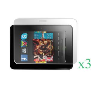 LCD Screen Protector for  Kindle Fire HD 7 inch Tablet