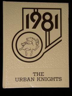 1981 SUGE KNIGHT LYNWOOD HIGH SCHOOL YEARBOOK URBAN KNIGHTS CA DEATH