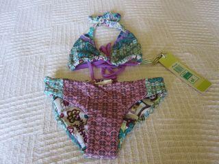 Maaji Girls Size 4 8 10 12 2 Piece Bikini Swimsuit