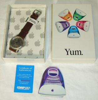 RARE Vintage Apple Computer iMac Yum Watch C 1999 New in Box Limited