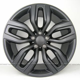 20 BMW X5 X6 SPORT M STYLE 337 STAGGERED WHEELS RIMS 5X120 MATTE BLACK