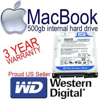 MACBOOK HARD DISK DRIVE HDD 500 GB SATA MA254LL A MB061LL B MB062LL B