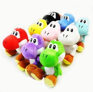 Lot 9 Pcs Super Mario Bros Yoshi 7 Plush Toy New M14