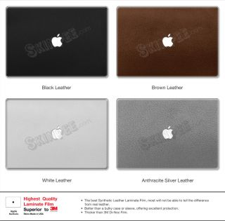 MacBook Pro 13 Leather Series Full Body Skin Wrap Decal 3M Di NOC 13