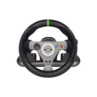 Madcatz Xbox 360 Wireless Racing Steering Wheel I Faulty for Parts