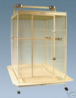 Parrot Bird Cage Extra Large Playtop 40LX30WX71H Macaw Cockatoo