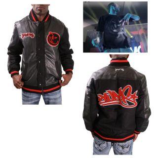 Mens Varsity Jacket Letterman Wool Coat MGK Machine Gun Kelly Size 3XL