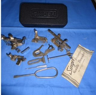 Singer Sewing Machine Tool Box Complete with Tools
