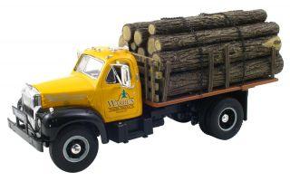 First Gear 10 3795 MACK B Logging Truck Warren Timber Products NEw