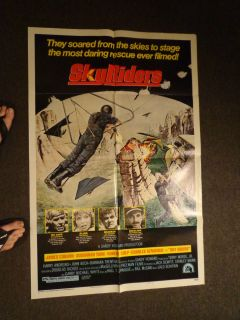 Sheet Movie Poster Sky Riders Sky Diving James Coburn