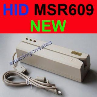 MSR609 HID Magnetic Card Reader Writer Encoder HiCo USB