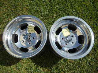 Cal 500 15x8 5 Slot Mag Wheels Gasser Mags Ratrod Van Truck