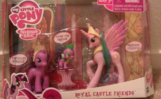 My Little Pony Friendship Is Magic Royal Castle Friends