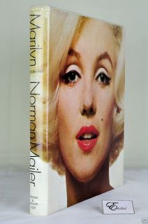 Marilyn A Biography by Norman Mailer of Monroe 1973 HC DJ 1st Printing