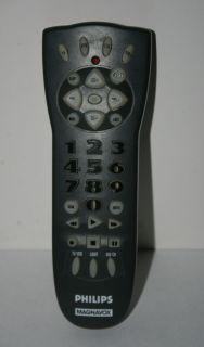 REM250 Philips Magnavox Universal TV VCR Cable Audio Remote Control