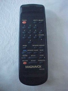 Magnavox TV Video REMOTE CONTROL Ex condition WORKS tested has cover