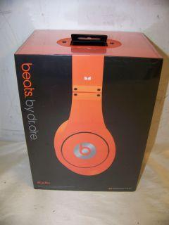 Monster Beats By Dr. Dre Studio Headphones   Orange NEW! FREE SHIPPING