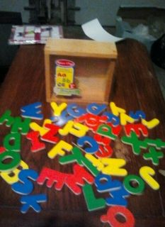 52 Upper and Lower Case Magnetic Alphabet Letters Home Daycare