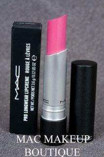 Mac Pro Longwear Lipstick Love Forever Bright Blue Pink 100 Authentic