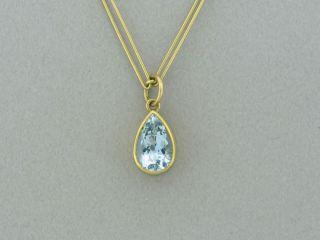 Mallary Marks Beryl Bon Bon 18K and 22K Yellow Gold Pendant Necklace