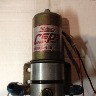Mallory 4140 Fuel Pump Series 140