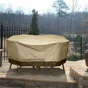 Patio Furniture Cover Deluxe Round Table Chair Set Cover Brand New