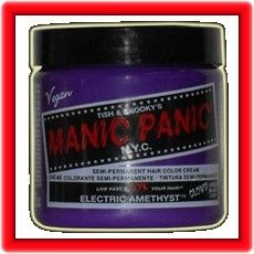 Manic Panic Electric Amethyst Purple Hair Dye Punk Cool Hot Fashions