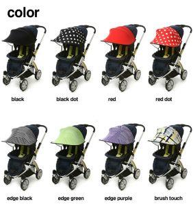 Manito Sun Shade Baby Stroller Sun Canopy for Baby Stroller and Car