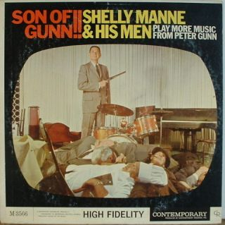 Shelly Manne Son of Gunn Contemporary 3566 Mono